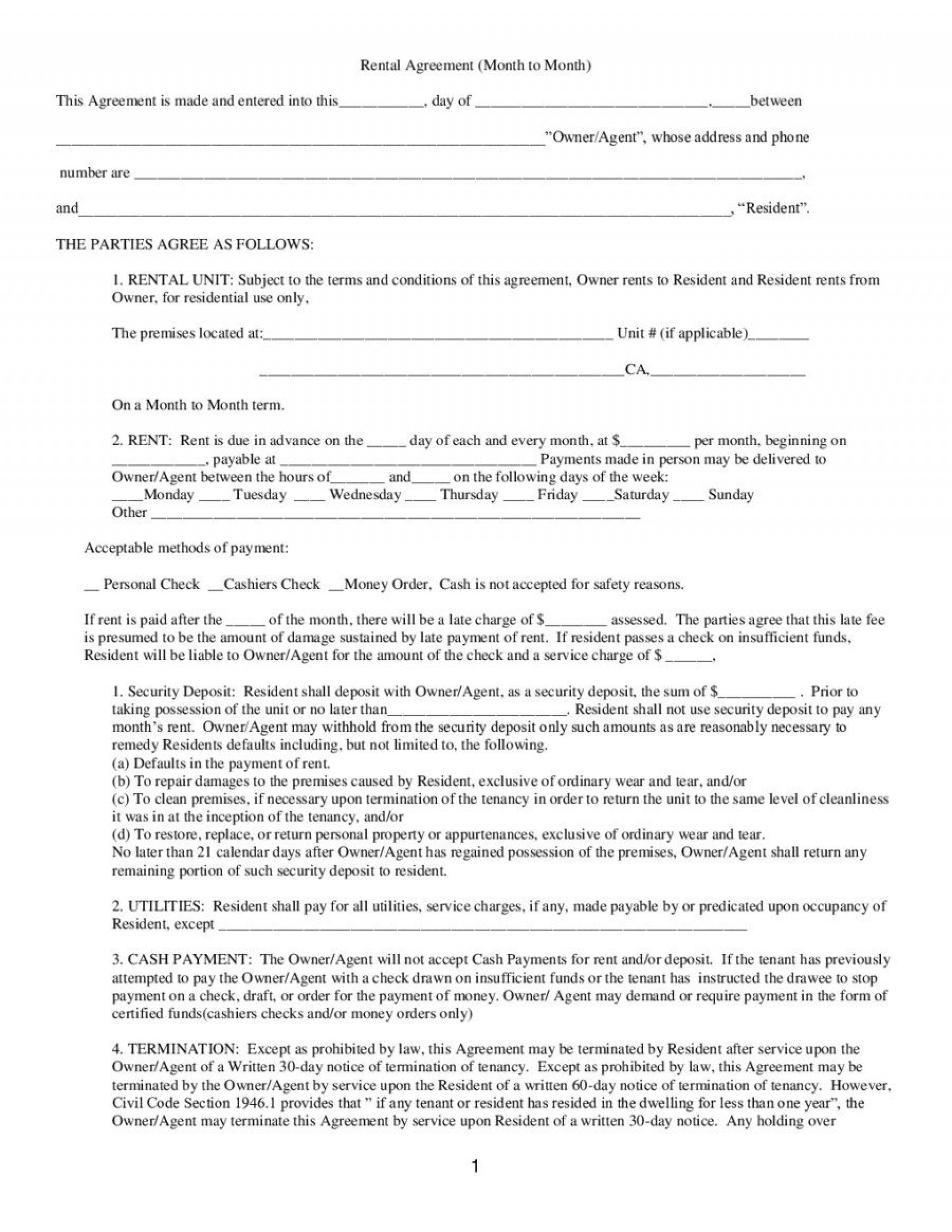Rental Application Form Template from www.addictionary.org