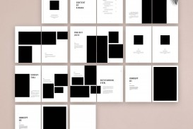 007 Impressive In Design Portfolio Template Highest Clarity  Free Indesign A3 Photography Graphic Download