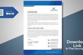 007 Impressive Microsoft Word Template Download Sample  Cv Free Portfolio