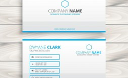 007 Impressive Name Card Template Free Download Concept  Table Ai Wedding