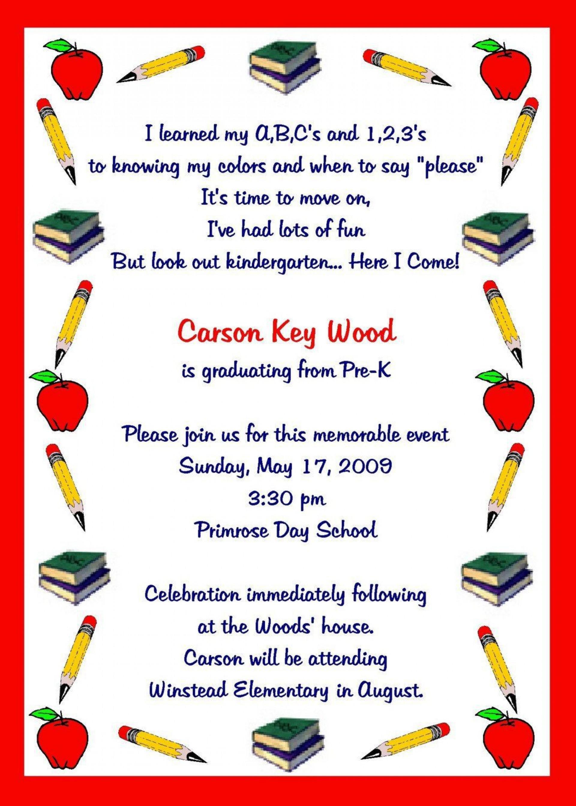 007 Impressive Preschool Graduation Program Template Highest Clarity  Templates Free Printable Pdf1920
