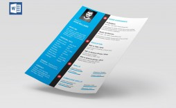 007 Impressive Resume Template Free Word Picture  Download Cv 2020 Format