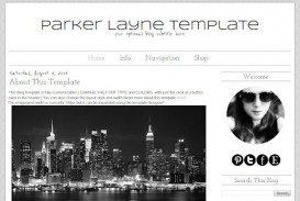 007 Impressive Simple Blogger Template Free High Definition  Blogspot Download Blog