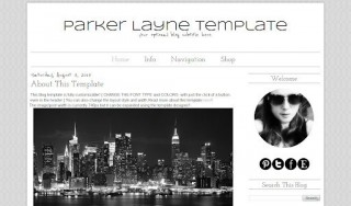 007 Impressive Simple Blogger Template Free High Definition  Blogspot Download Blog320