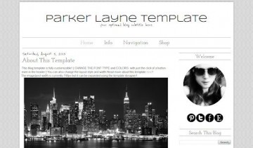 007 Impressive Simple Blogger Template Free High Definition  Blogspot Download Blog360