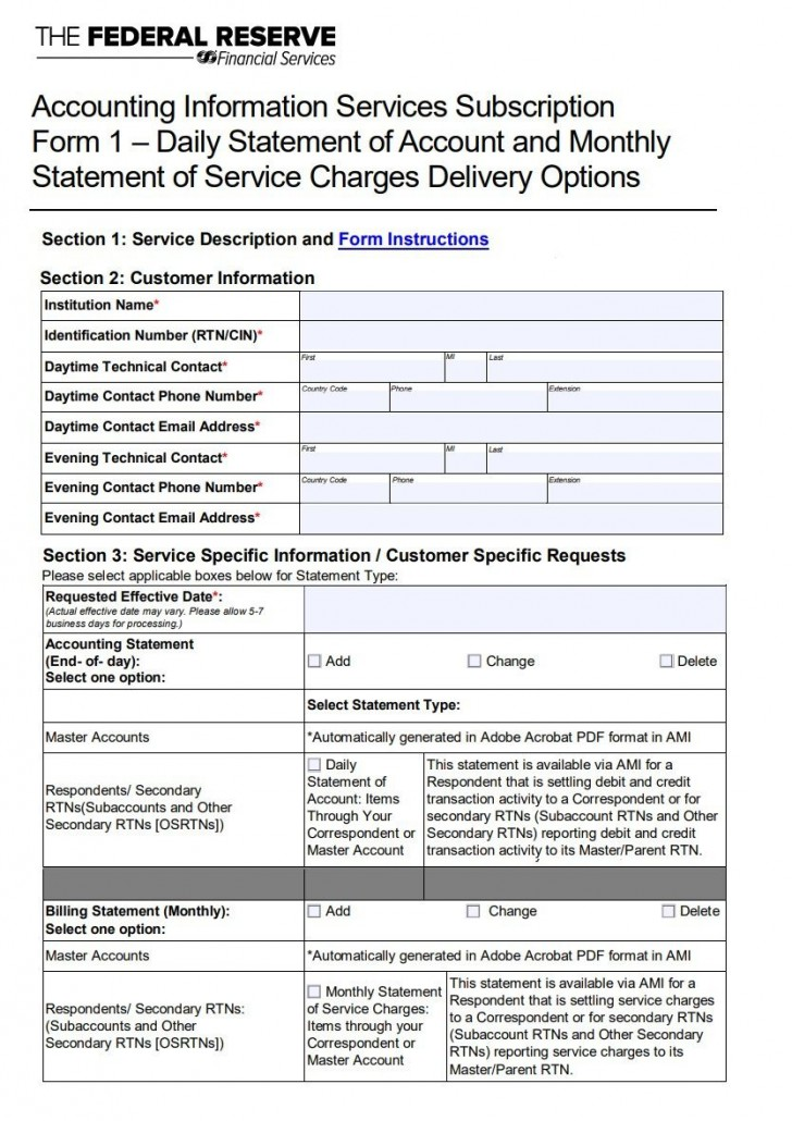 007 Impressive Statement Of Account Template Design  Uk Free Doc Customer728