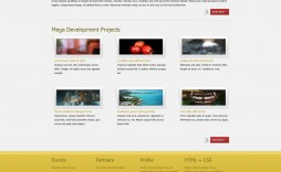 007 Impressive Web Page Design Template Cs High Def  Css