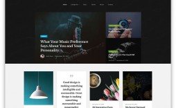 007 Impressive Web Page Template Html Free Download High Def  One Website Cs Single