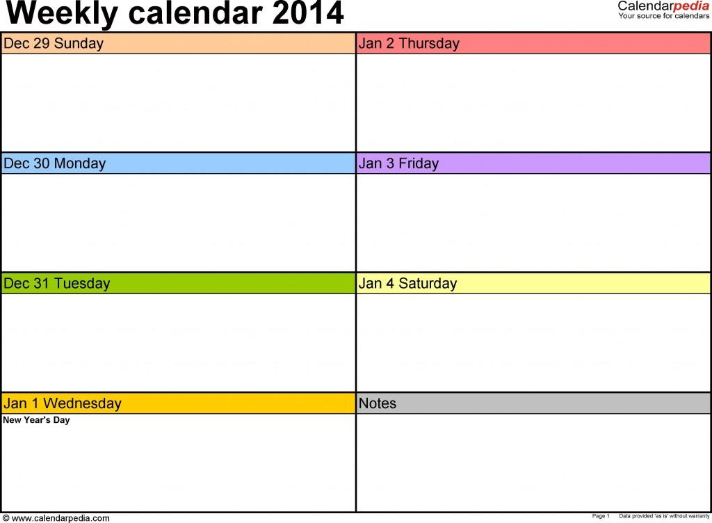 007 Impressive Weekly Schedule Template Word Picture  Work Microsoft PlanLarge