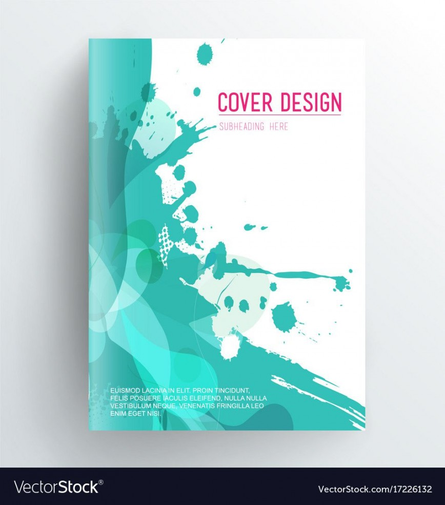 007 Incredible Book Cover Page Design Template Free Download Sample  Layout