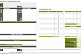 007 Incredible Construction Bid Template Free Excel Highest Quality