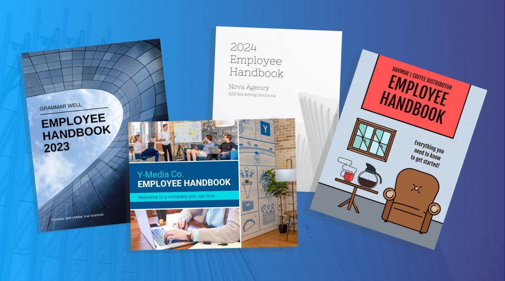 007 Incredible Employee Handbook Template Free Concept  Restaurant Download Induction Manual Sample In SingaporeLarge
