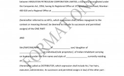 007 Incredible Exclusive Distribution Contract Template High Resolution  Agreement South Africa Non Free Uk