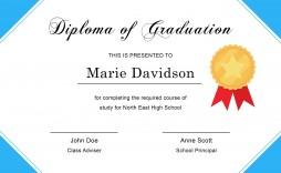007 Incredible Free Editable High School Diploma Template Sample  Templates Printable With Seal Fillable