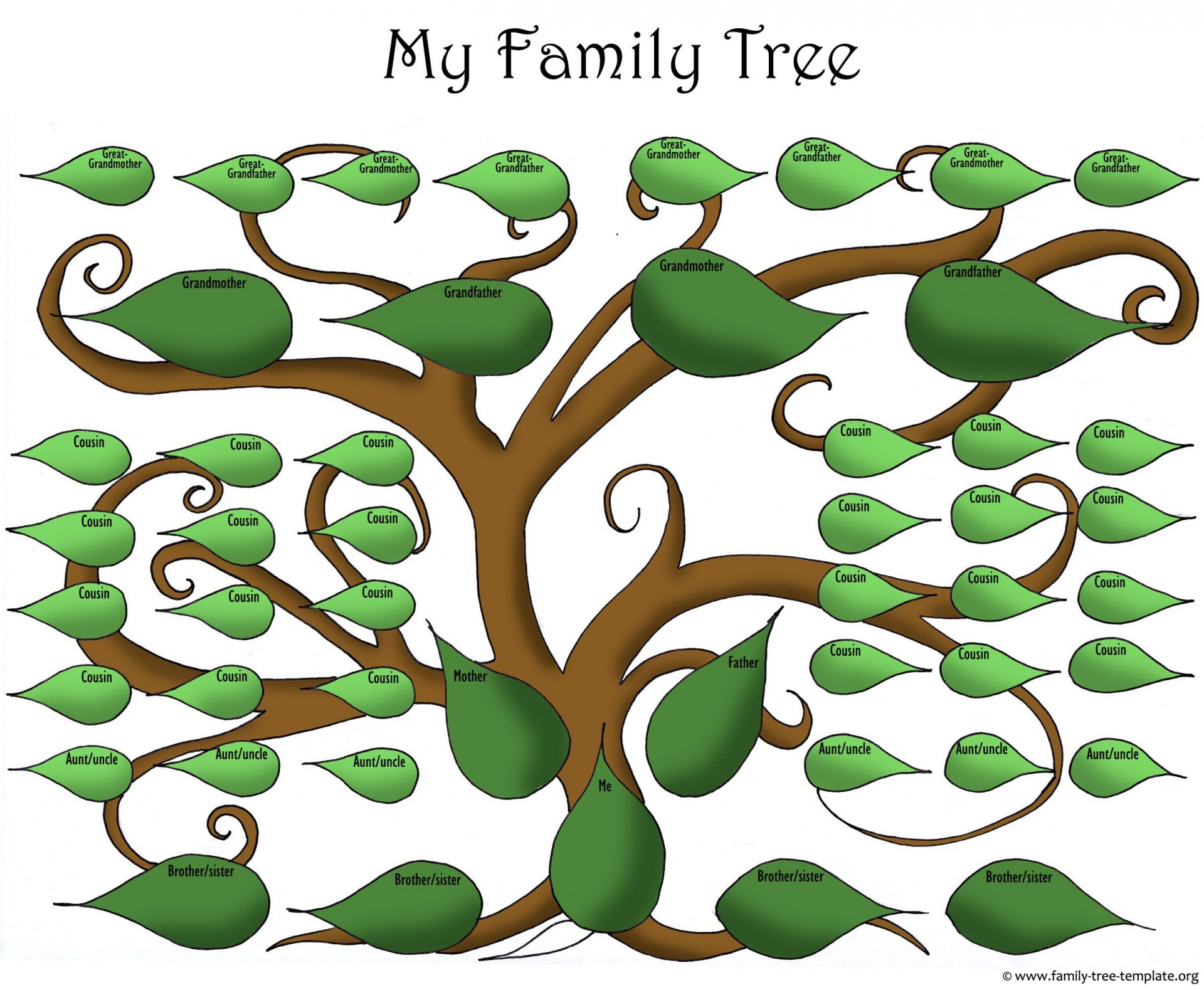 007 Incredible Free Online Family Tree Chart Template Idea 1920