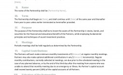 007 Incredible Free Partnership Agreement Template Highest Quality  Uk Malaysia Llp