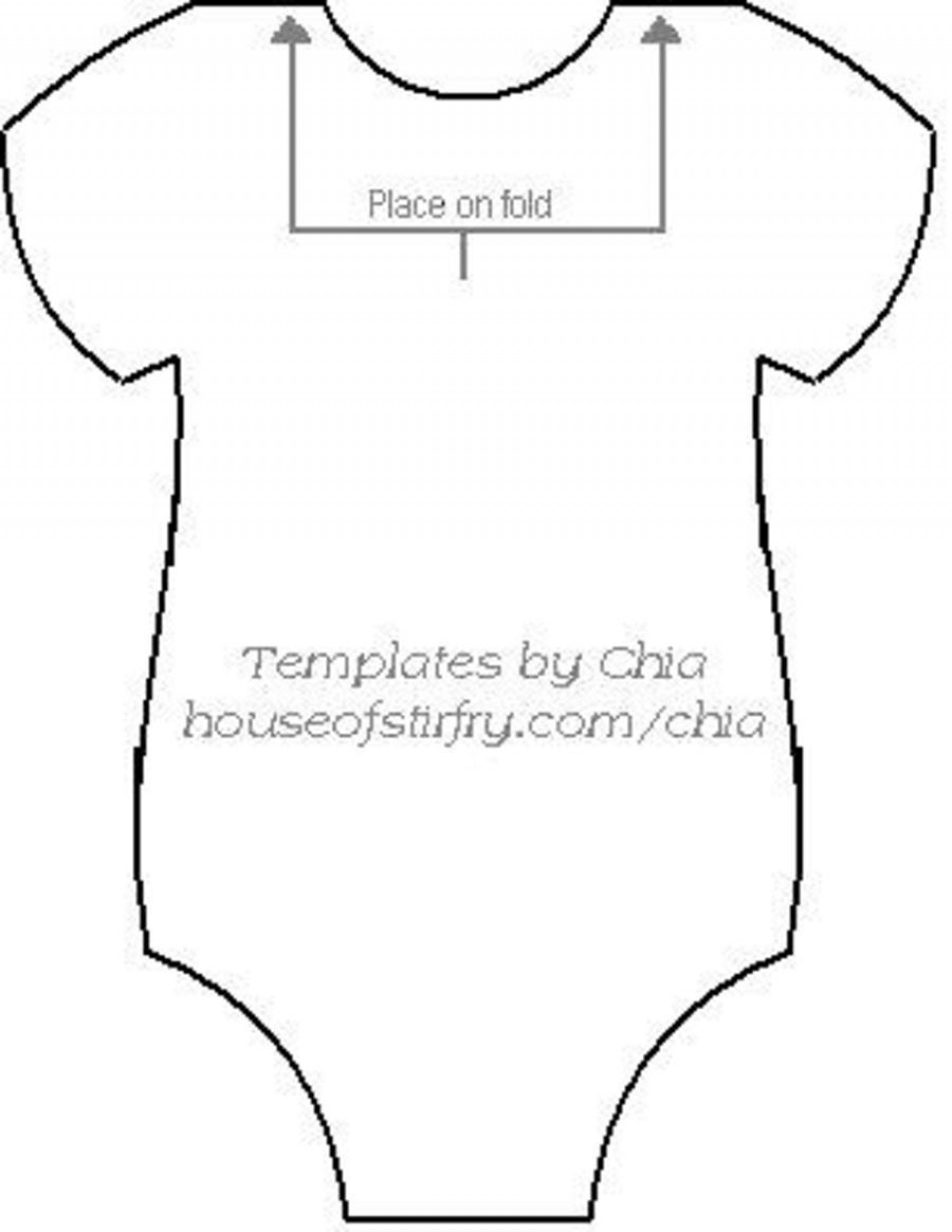 007 Incredible Free Printable Baby Onesie Template Highest Quality  Card Girl1920