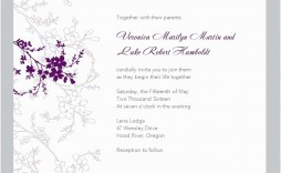 007 Incredible Free Wedding Template For Word Concept  Invitation In Marathi Menu