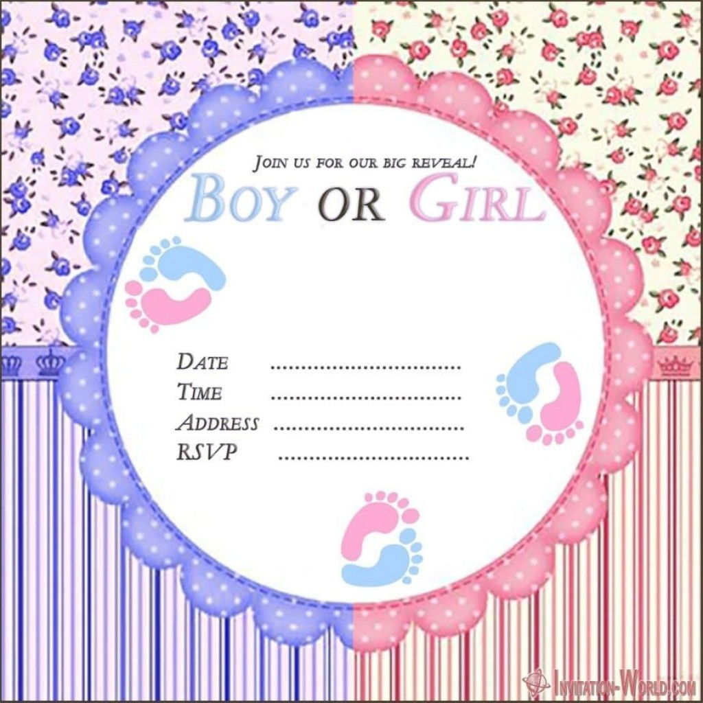 007 Incredible Gender Reveal Invitation Template Idea  Templates Party Free Printable MakerLarge