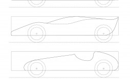 007 Incredible Pinewood Derby Car Design Template High Def  Fast Wedge