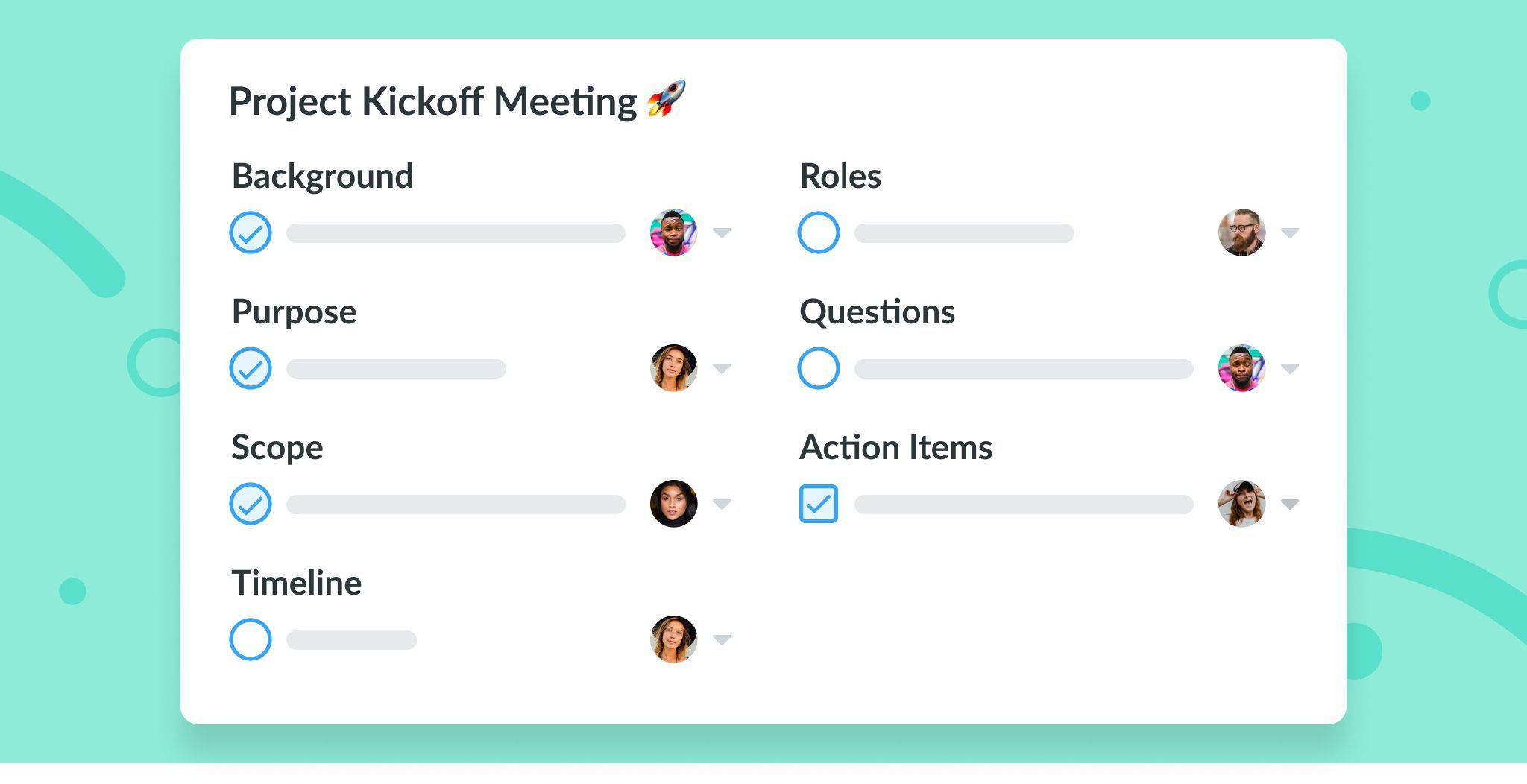 007 Incredible Project Kickoff Meeting Template Xl Photo  Xls ExcelFull