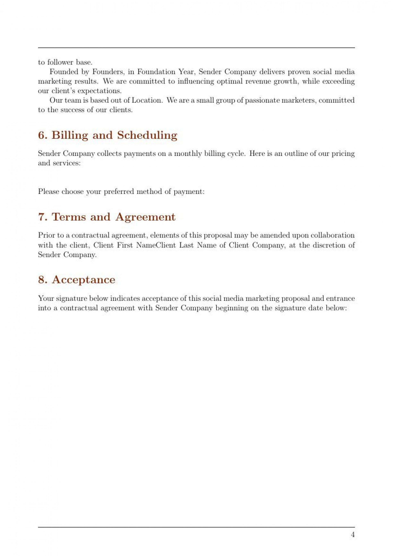 007 Incredible Social Media Marketing Proposal Template Design  Plan Free Download Pdf Word1920