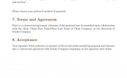 007 Incredible Social Media Marketing Proposal Template Design  Plan Free Download Pdf Word
