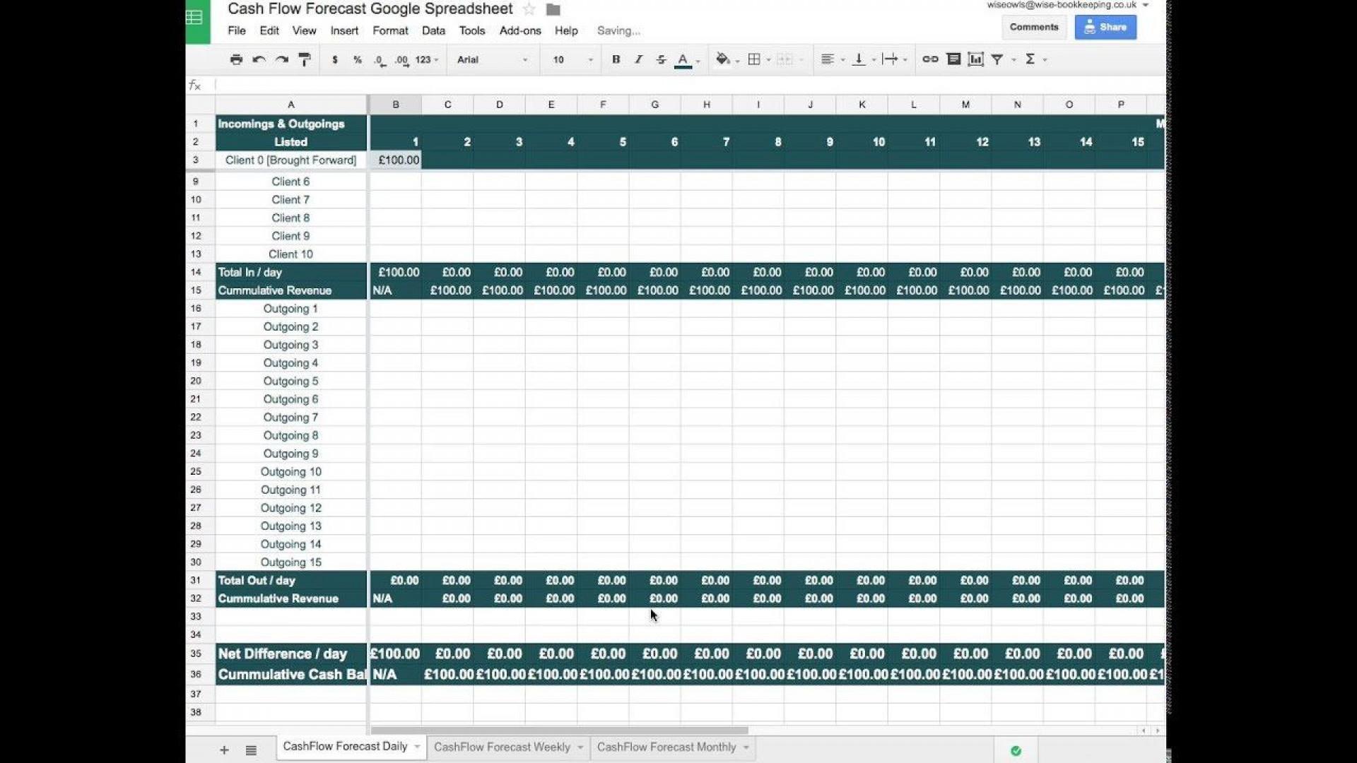 007 Incredible Statement Of Cash Flow Template Google Doc Sample  Docs1920