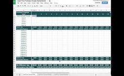 007 Incredible Statement Of Cash Flow Template Google Doc Sample  Docs