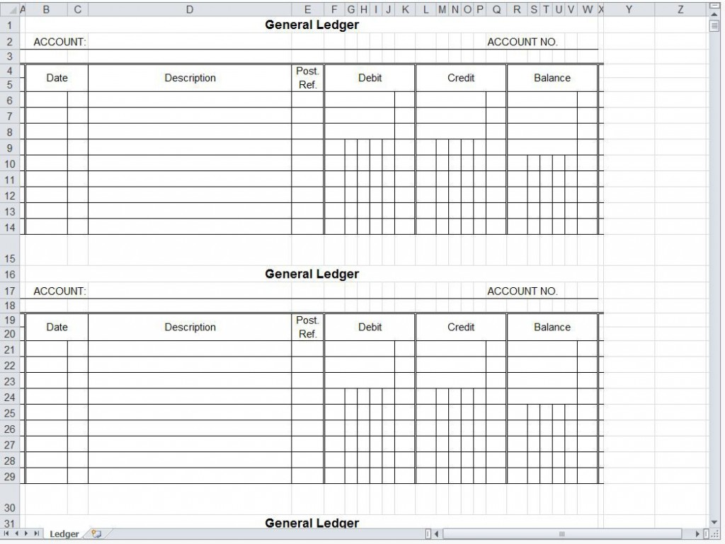 007 Magnificent Accounting Journal Entry Template Excel Concept  DoubleLarge