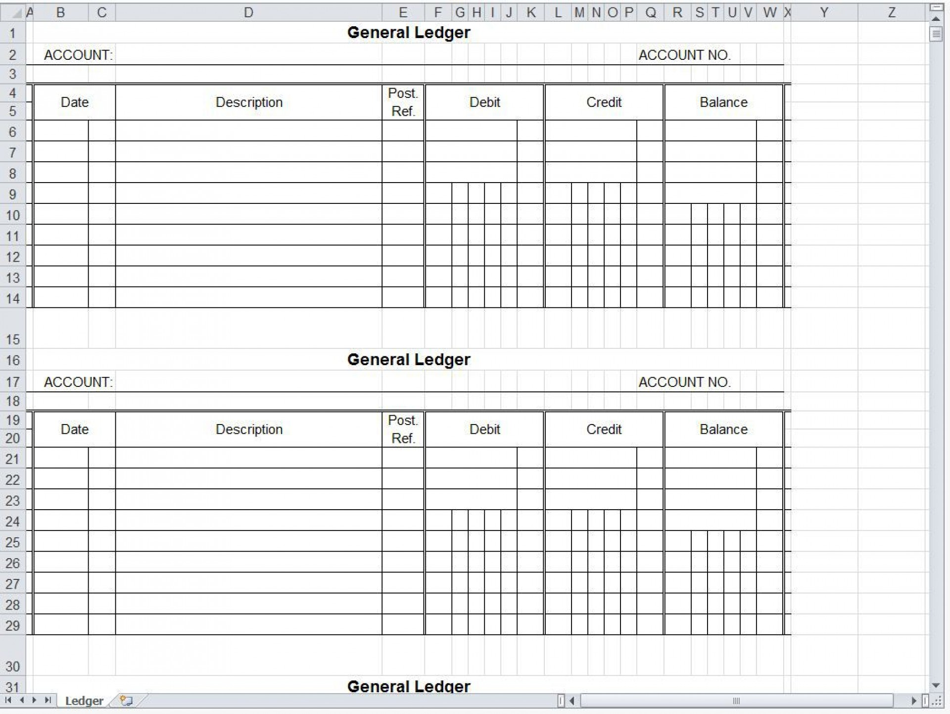 007 Magnificent Accounting Journal Entry Template Excel Concept  Double1920