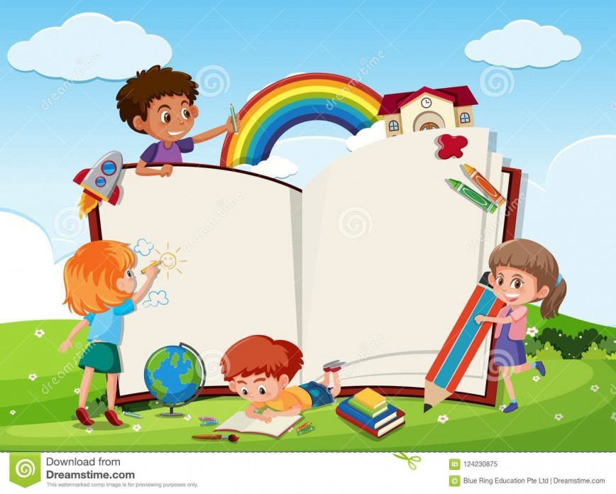007 Magnificent Book Template For Kid Idea  Kids