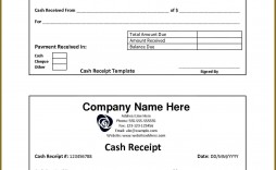007 Magnificent Cash Receipt Template Word High Resolution  Money Sample Format Download Payment