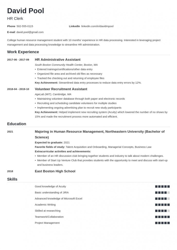 007 Magnificent College Freshman Resume Template Inspiration 728