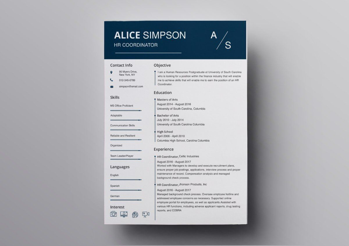 007 Magnificent Download Resume Template Free Mac Highest Clarity  ForFull