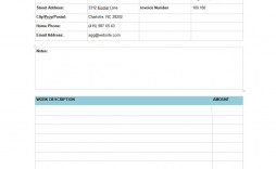 007 Magnificent Free Service Invoice Template Picture  Printable Form Cleaning Microsoft Excel