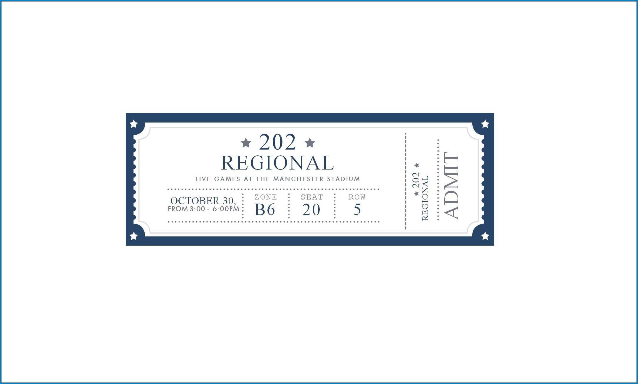 007 Magnificent Free Ticket Template Word Picture  Design Event MicrosoftFull