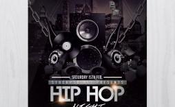 007 Magnificent Hip Hop Flyer Template Design  Templates Hip-hop Party Free Download