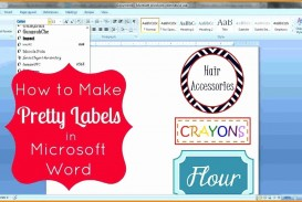 007 Magnificent Microsoft Word Label Template Free Photo  Cd Dvd Water Bottle