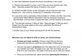 007 Magnificent Of Mice And Men Essay Photo  Prompt Topic
