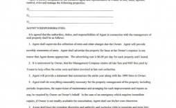 007 Magnificent Property Management Contract Template Free Concept  Uk