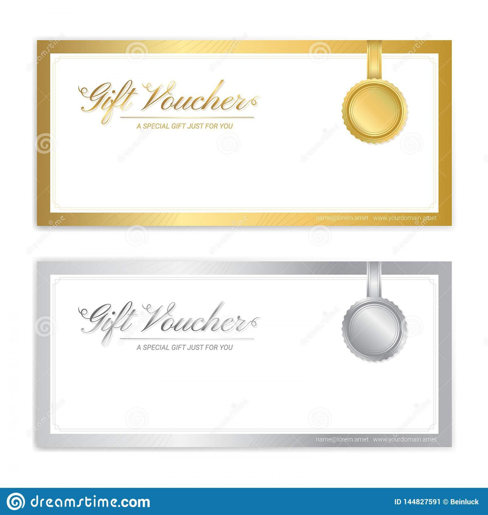007 Magnificent Template For Gift Certificate Sample  Voucher Word Free Printable In1920