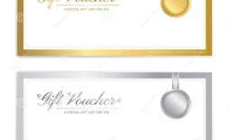 007 Magnificent Template For Gift Certificate Sample  Voucher Word Free Printable In