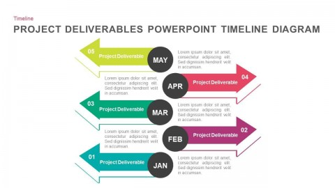 007 Magnificent Timeline Graph Template For Powerpoint Presentation Highest Clarity 480