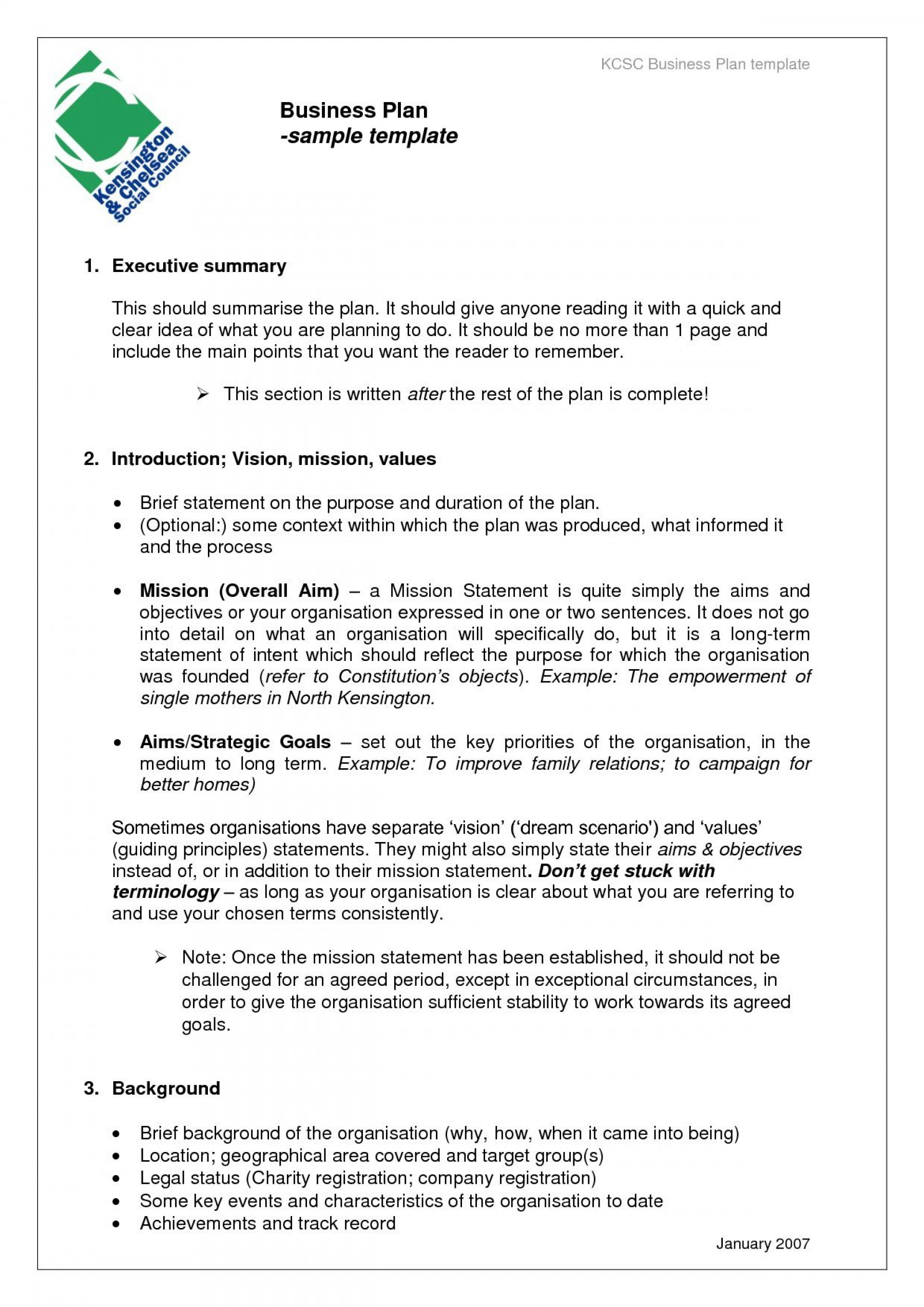 007 Marvelou Free Busines Plan Template Word Highest Clarity  Download Document Sample Doc1920