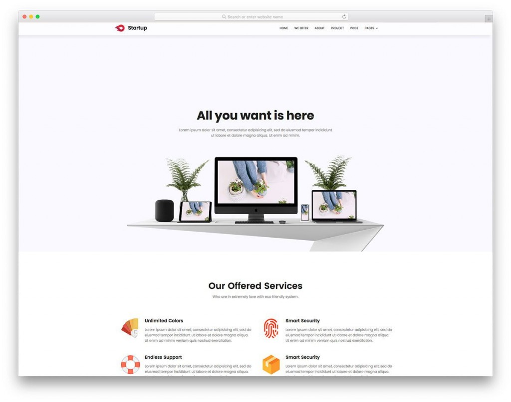 007 Marvelou Free Simple Web Page Template Example  Html Website CsLarge