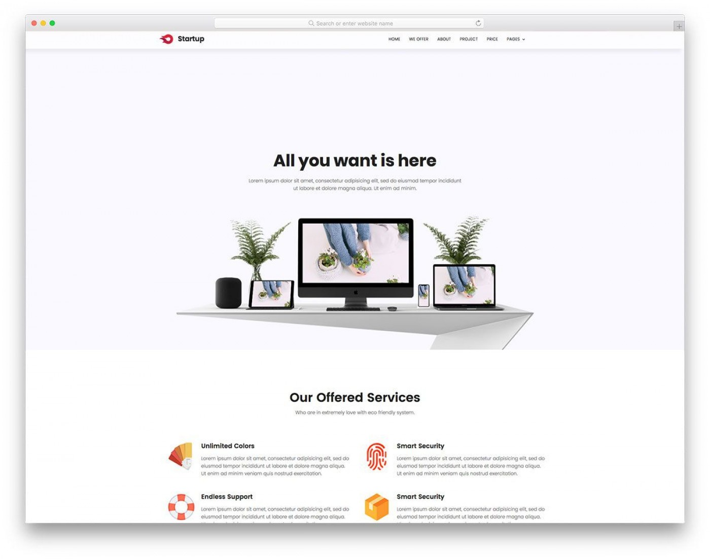 007 Marvelou Free Simple Web Page Template Example  Html One Website Download With Cs1400