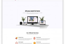 007 Marvelou Free Simple Web Page Template Example  Html One Website Download With Cs