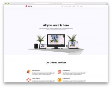 007 Marvelou Free Simple Web Page Template Example  Html One Website Download With Cs360