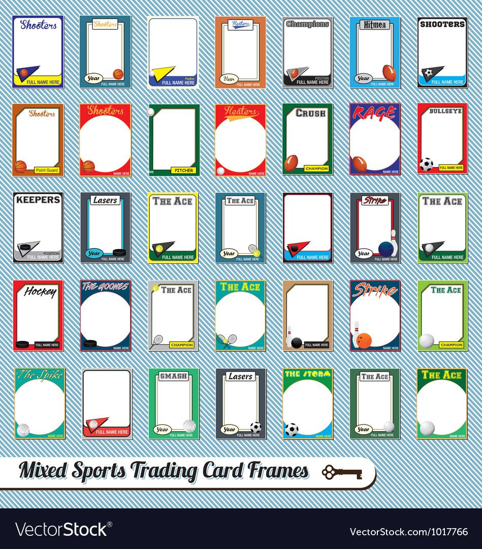 007 Marvelou Free Trading Card Template Download High Definition  BaseballFull